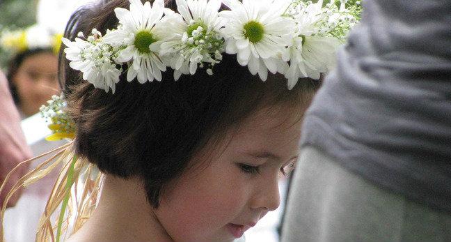 Nursery May Dance Girl