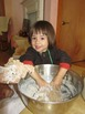Nursery Girl Kneading Dough