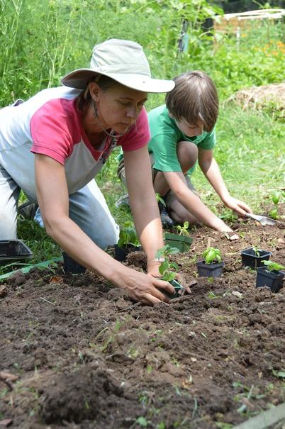 Mary Beth Planting 2