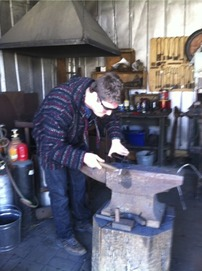 03.26.14SeniorsBlacksmithing