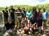 11th grade botany trip 2013 class pic
