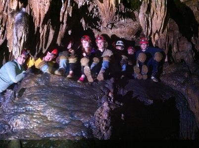 11th grade botany trip 2013 cave