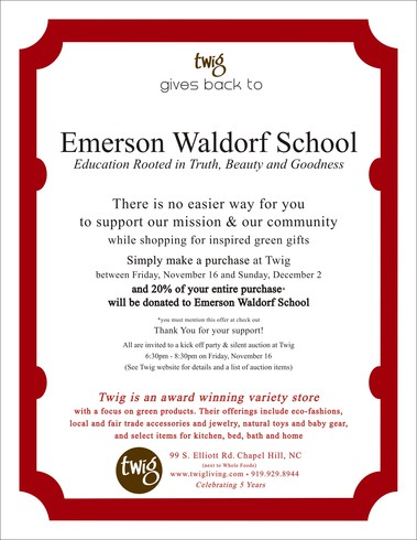 Emerson Waldorf School Full Page