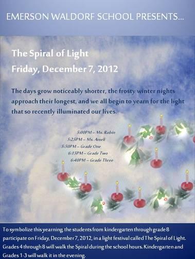 Spiral 2012 Flyer