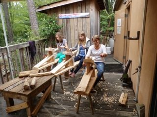 8th Grade Girls - Woodworking