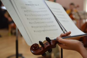 Gr 5 Strings MusicViolin Head